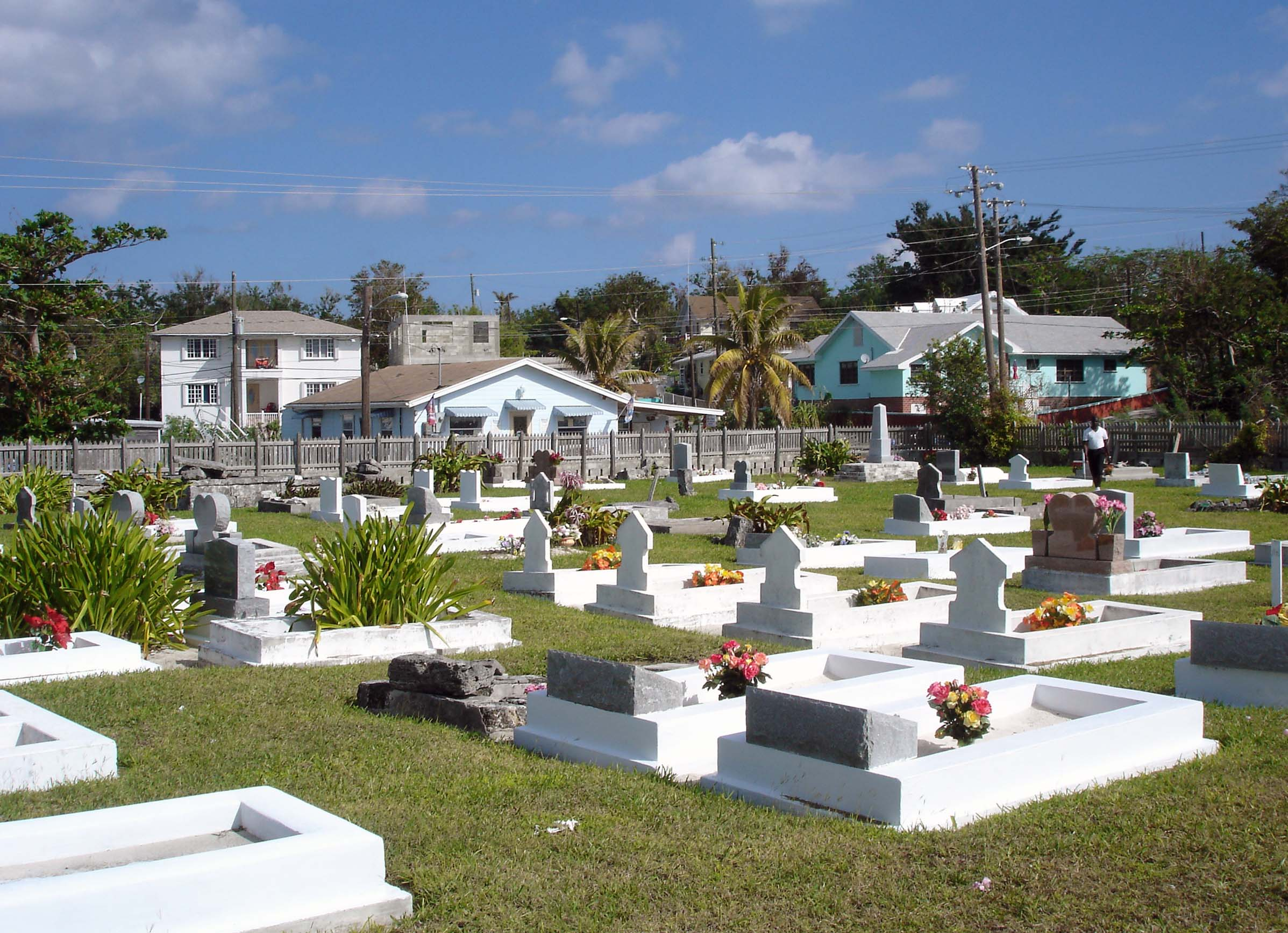 Green Turtle Cay's Historic Cemetery