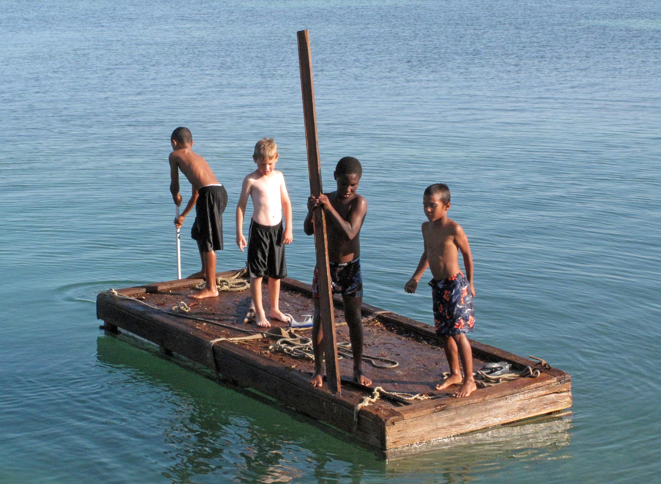 bahamas, abaco, green turtle cay, children, travel