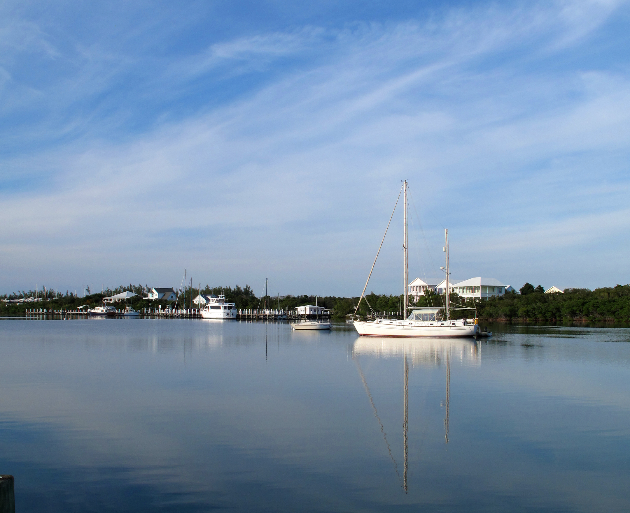 bahamas, abaco, green turtle cay, new plymouth, black sound, sailboat, boating, roberts cottages