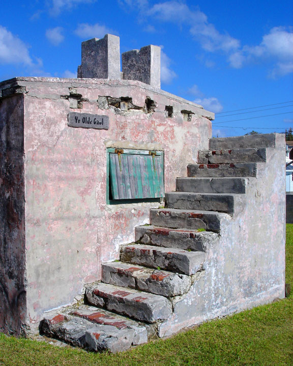 abaco, bahamas, green turtle cay, jail, travel, photography