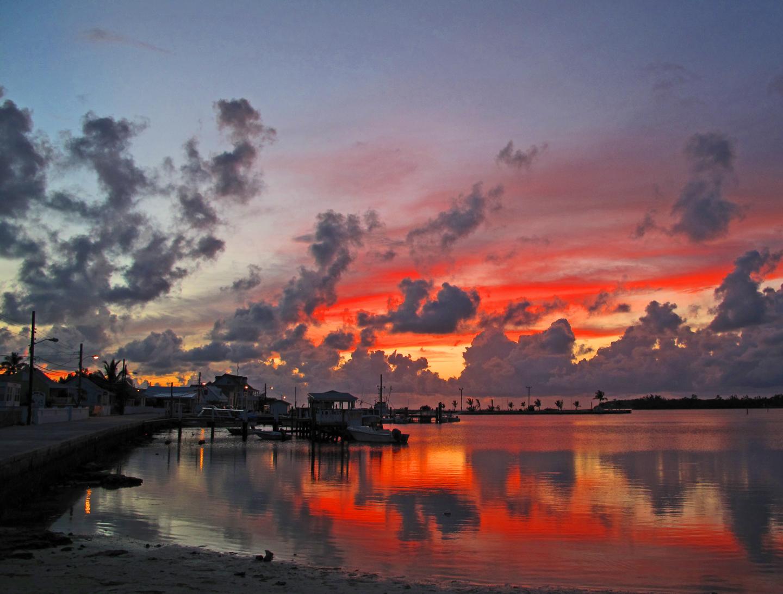 bahamas, sunset, green turtle cay, abaco, bahamas, amanda diedrick