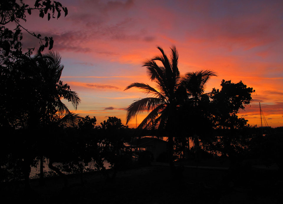 bahamas, abaco, green turtle cay, sunrise