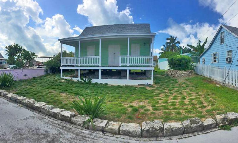 bahamas, abaco, green turtle cay, fish hooks, grass, garden, zoysia