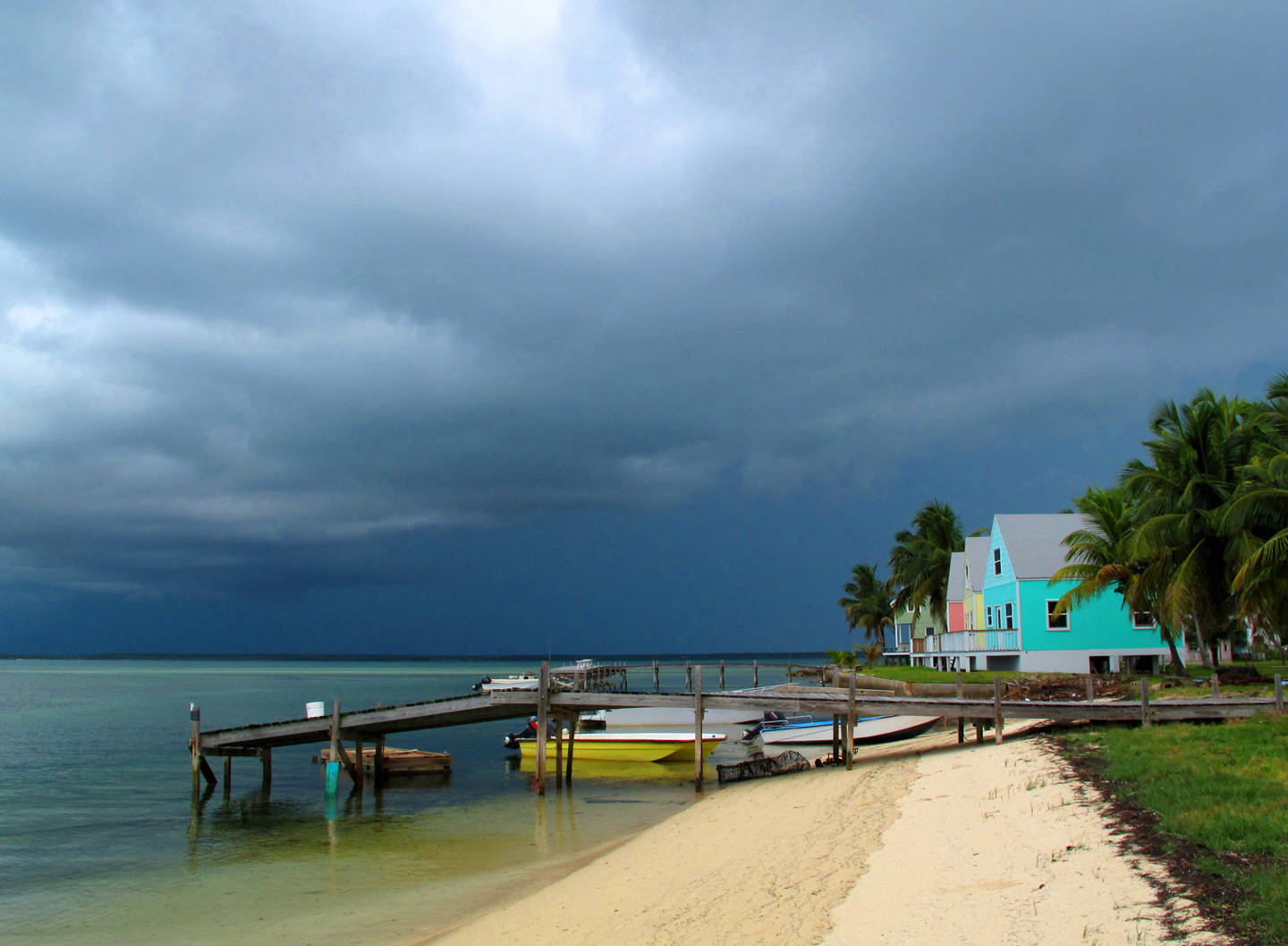 bahamas, abaco, green turtle cay, weather