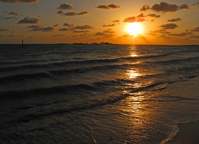 bahamas, abaco, green turtle cay, sunrise