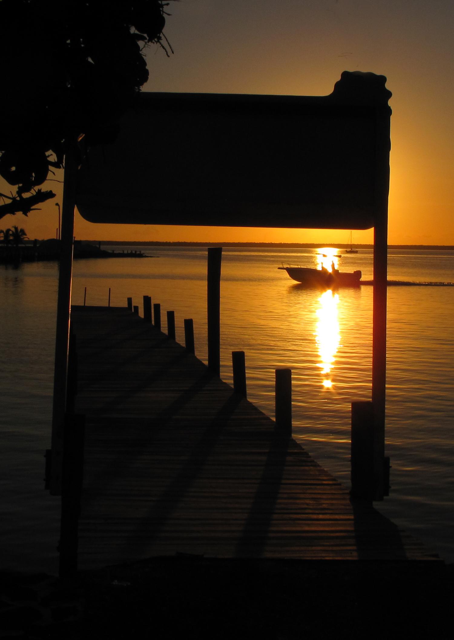 abaco, green turtle cay, bahamas, sunset