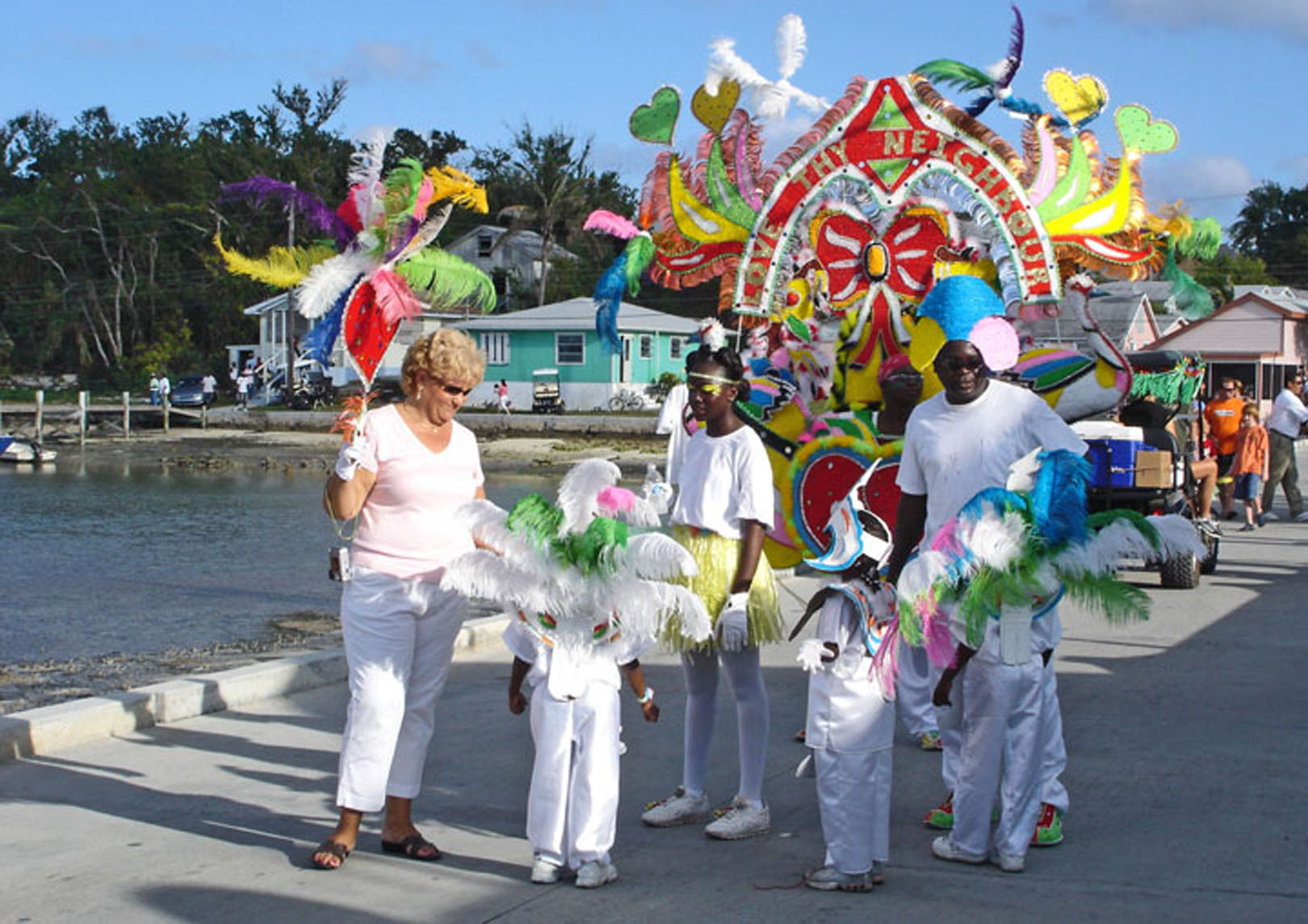 bahamas, abaco, green turtle cay, new year's, junkanoo