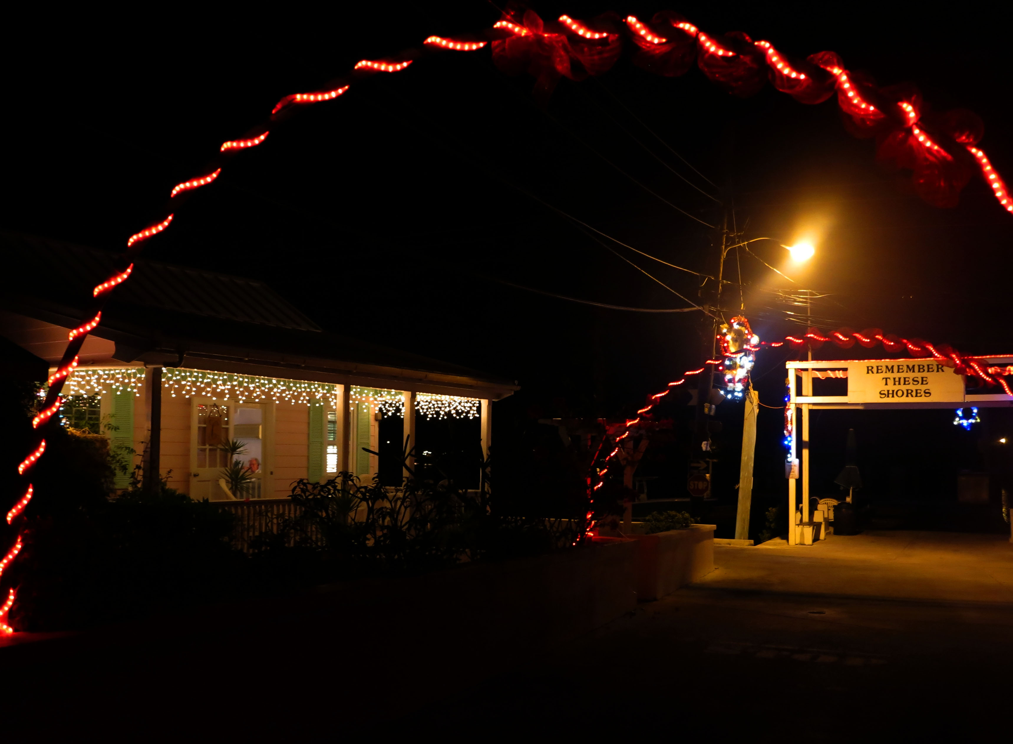 bahamas, abaco, green turtle cay, festival of lights, christmas
