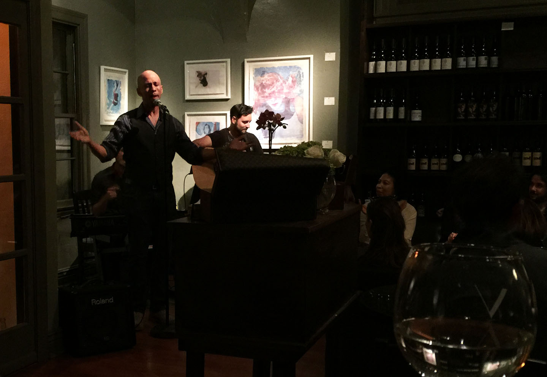 Ronnie Butler Jr., West Hollywood, V Wine Room