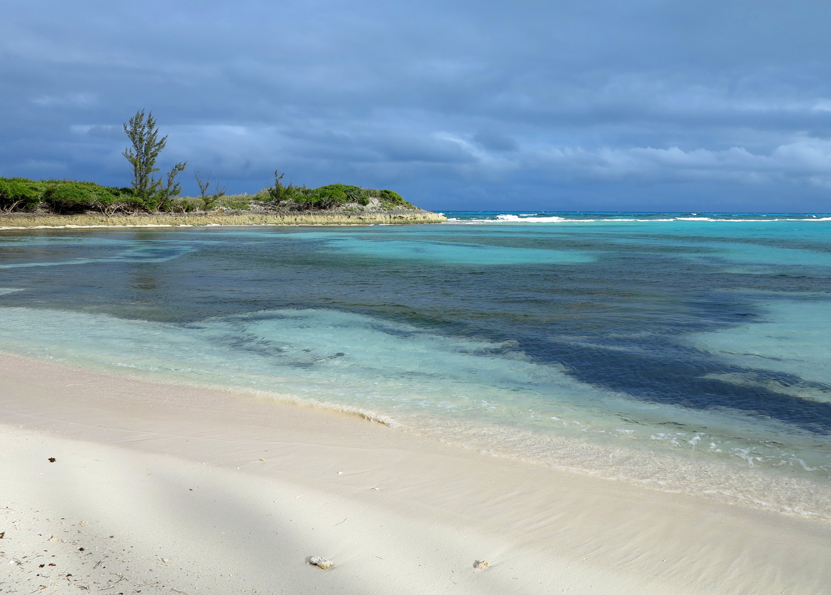 bahamas, abaco, green turtle cay, beach