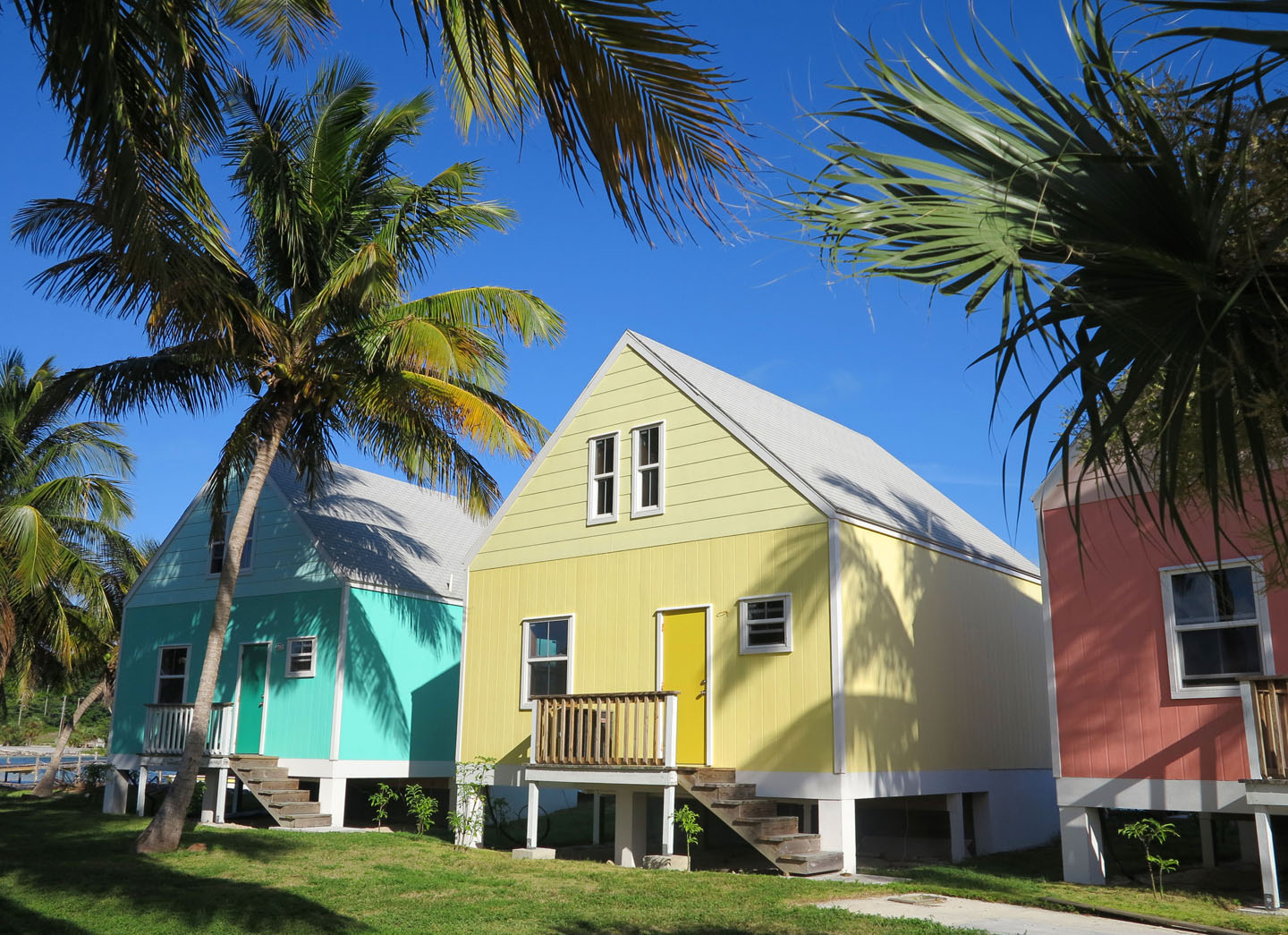 Colourful Cottages - Green Turtle Cay, Abaco, Bahamas