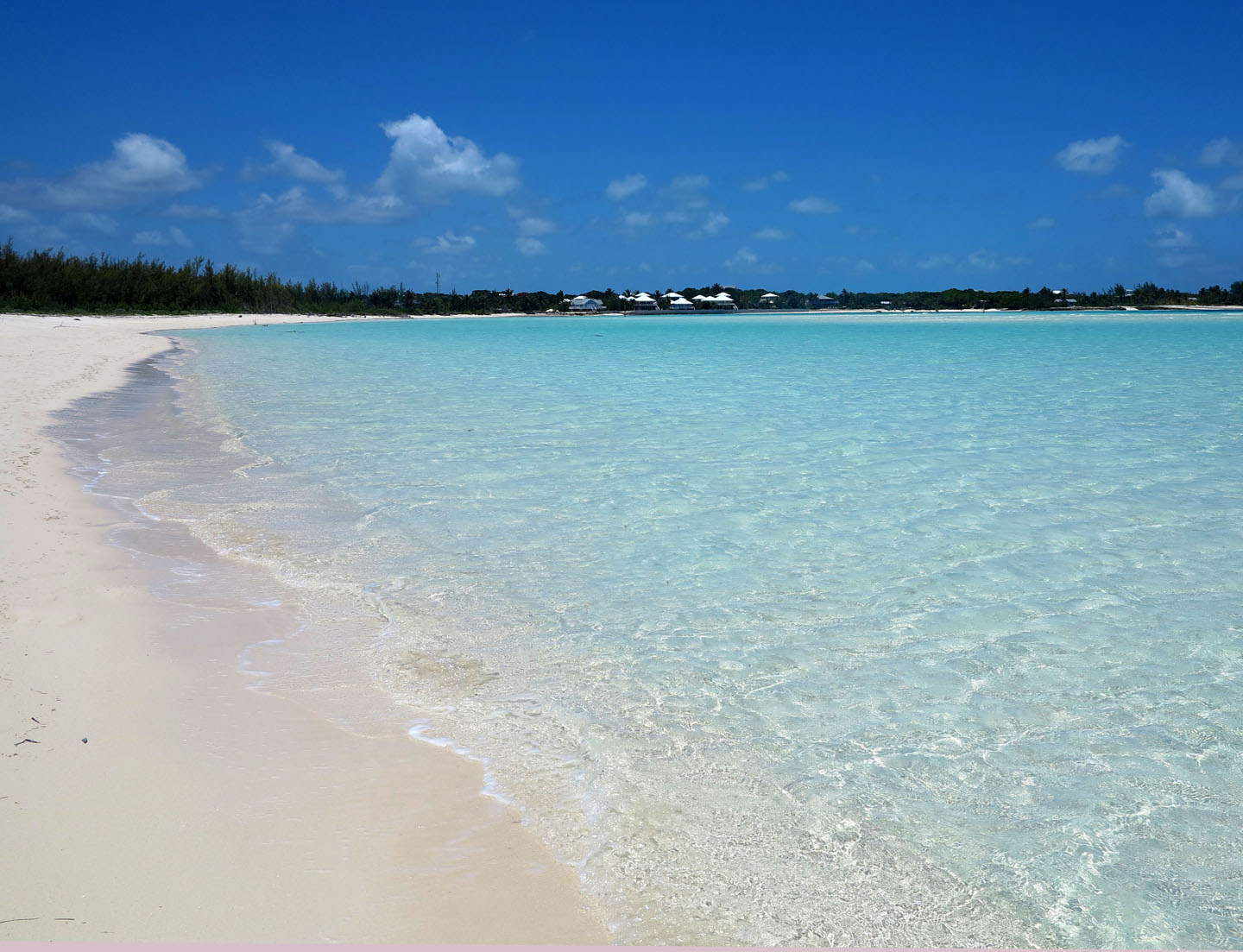 Gillam Bay Beach -- Green Turtle Cay, Abaco, Bahamas.