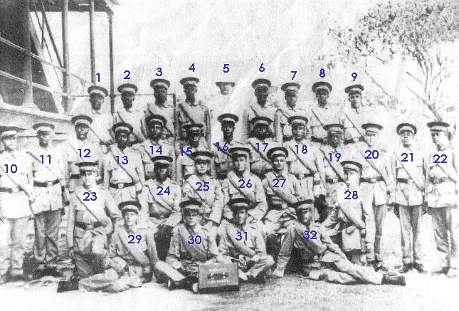 Can You Help Identify Members of the Gallant Thirty?