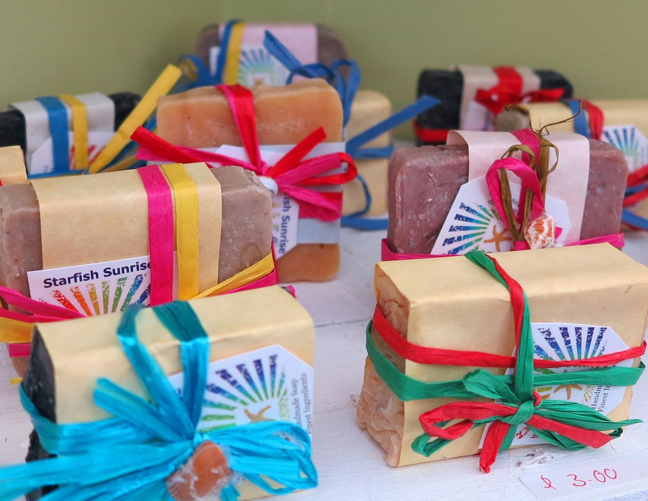 bahamas, abaco, starfish enterprises, every child counts, soap