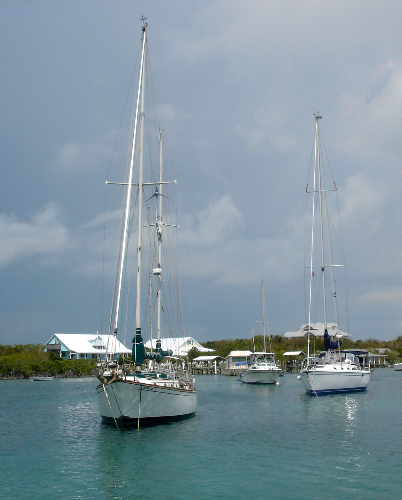 Man-O-War Harbour -- Abaco, Bahamas