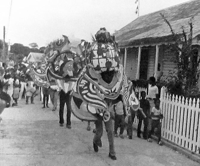Junkanoo Parade - First Island Roots Festival - Green Turtle Cay 1977