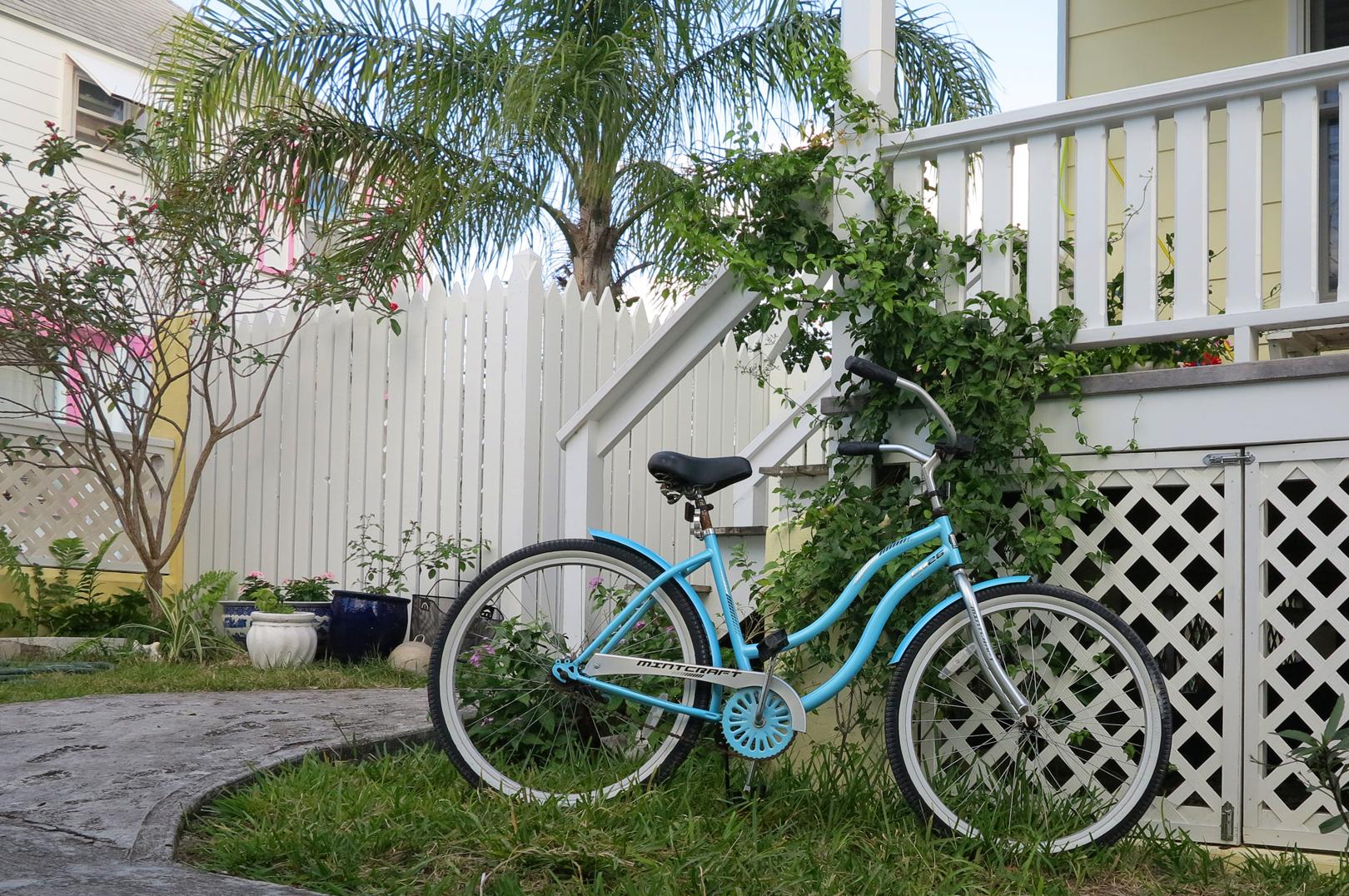 Street Scene, Green Turtle Cay, Abaco, Bahamas.