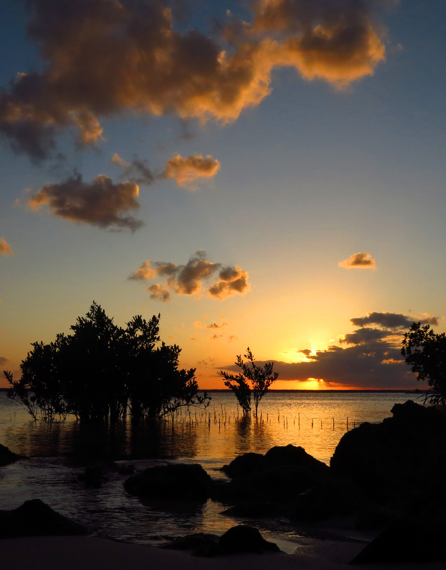 Sunset from the South Beach, Green Turtle Cay, Bahamas