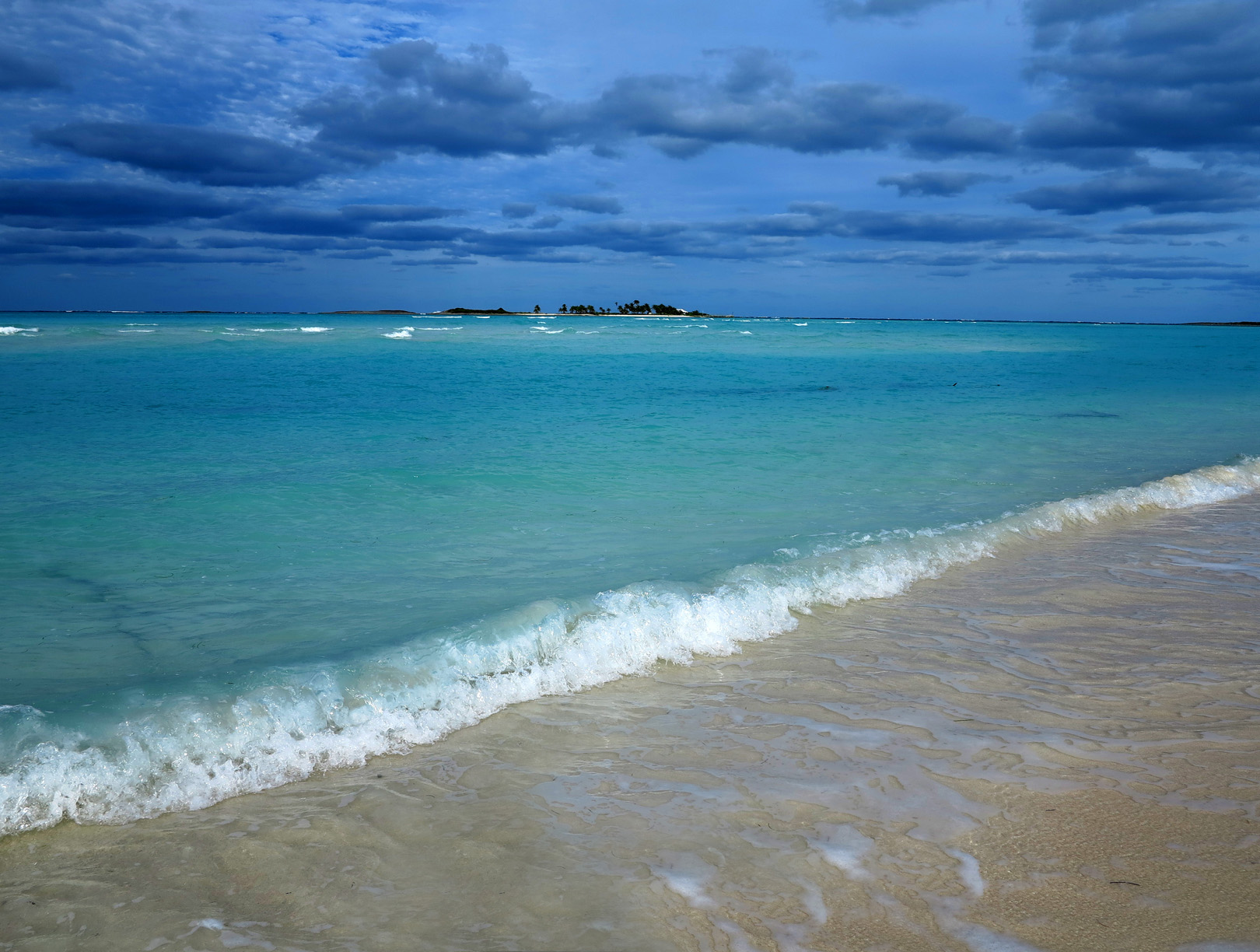 Gilliam Bay, Green Turtle Cay, Bahamas.