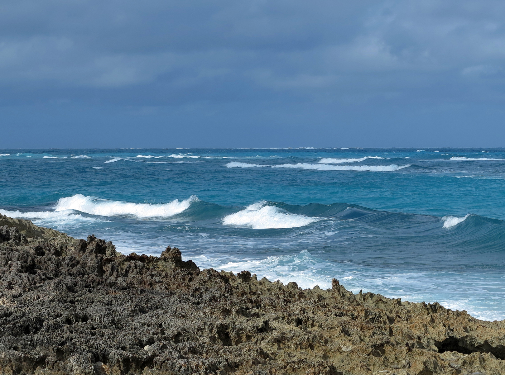 Stormy day on Green Turtle Cay
