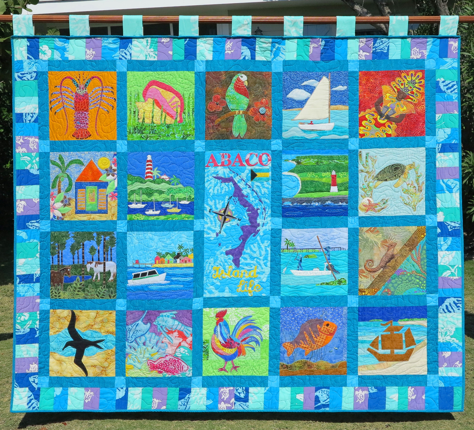 Abaco Heritage Quilt to be Sold to Benefit the Albert Lowe Museum