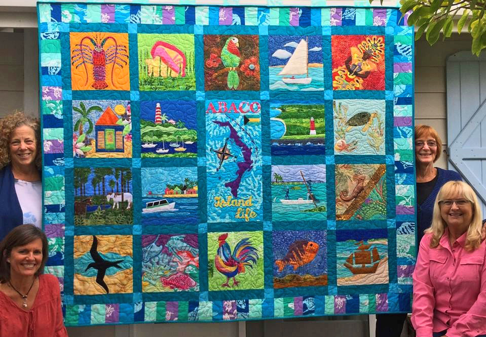 Abaco Heritage Quilt Going Once, Going Twice…