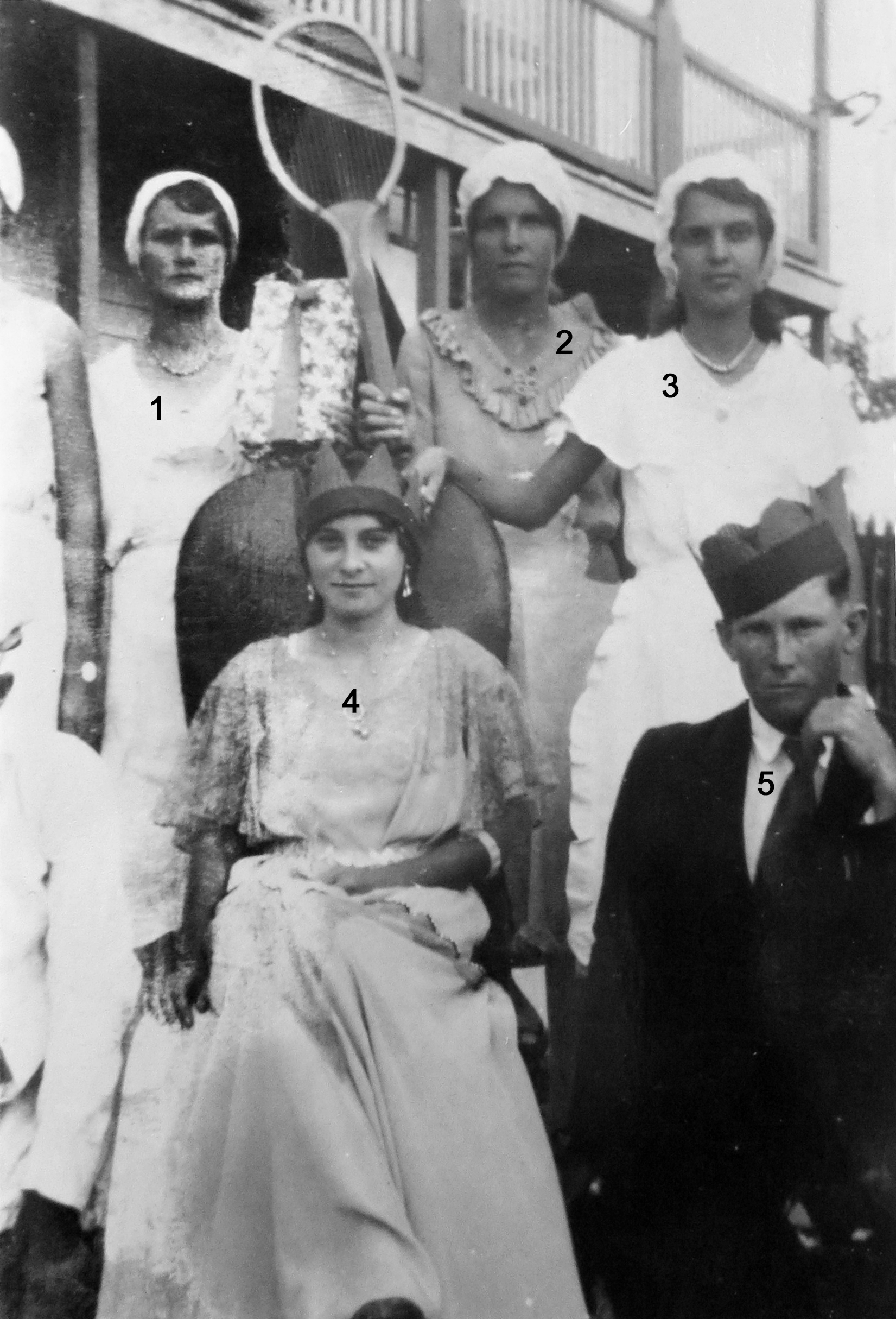 Can you help identify these people?