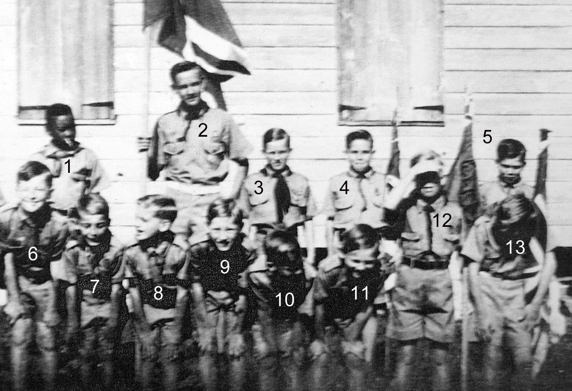 Recognize any of these Green Turtle Cay Boy Scouts?