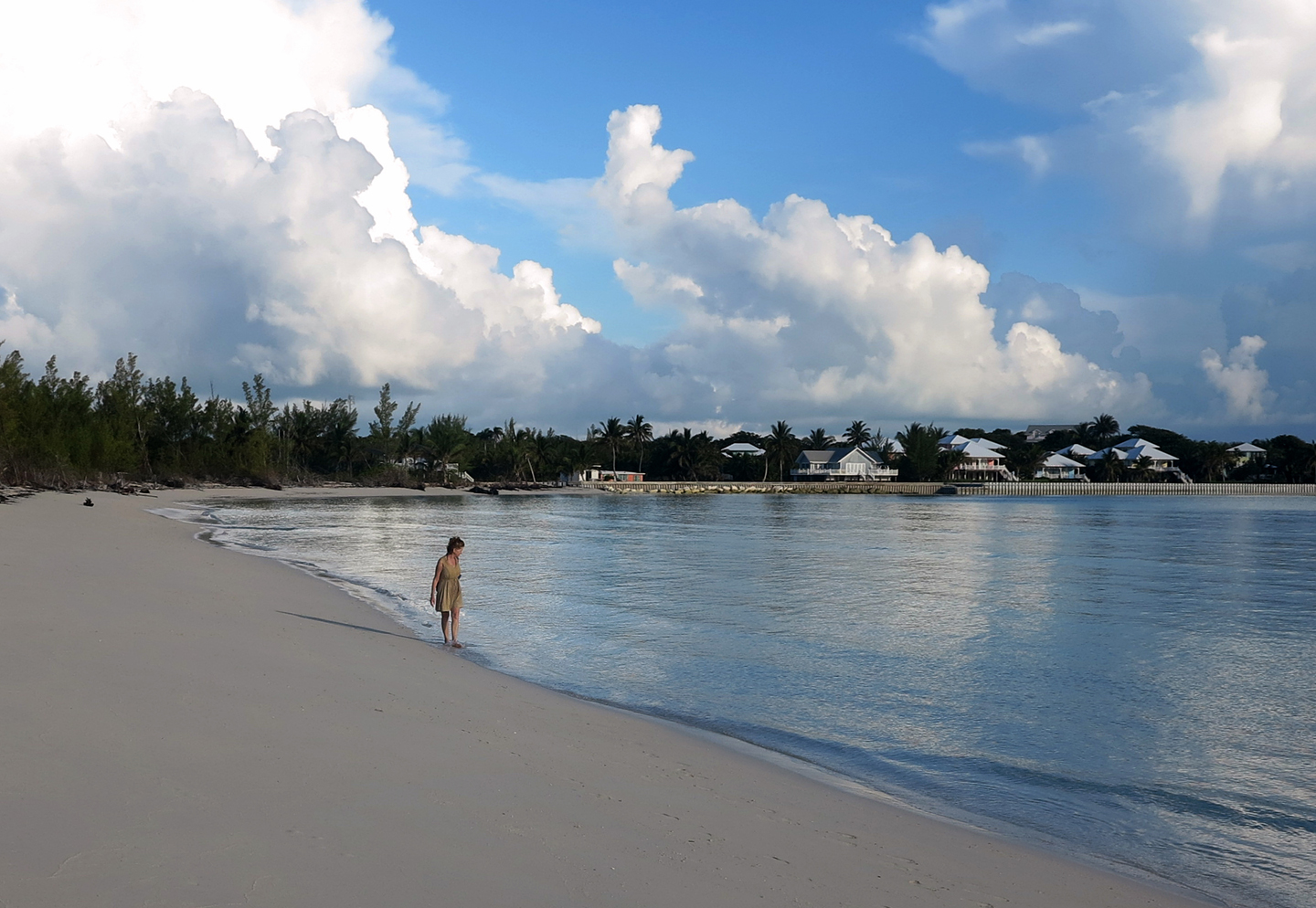 Early Morning Walk, Gillam Bay, Green Turtle Cay, Bahamas
