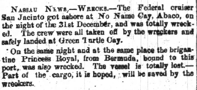 Thurs Feb 16 1865 wilmington journal, wilmington nc