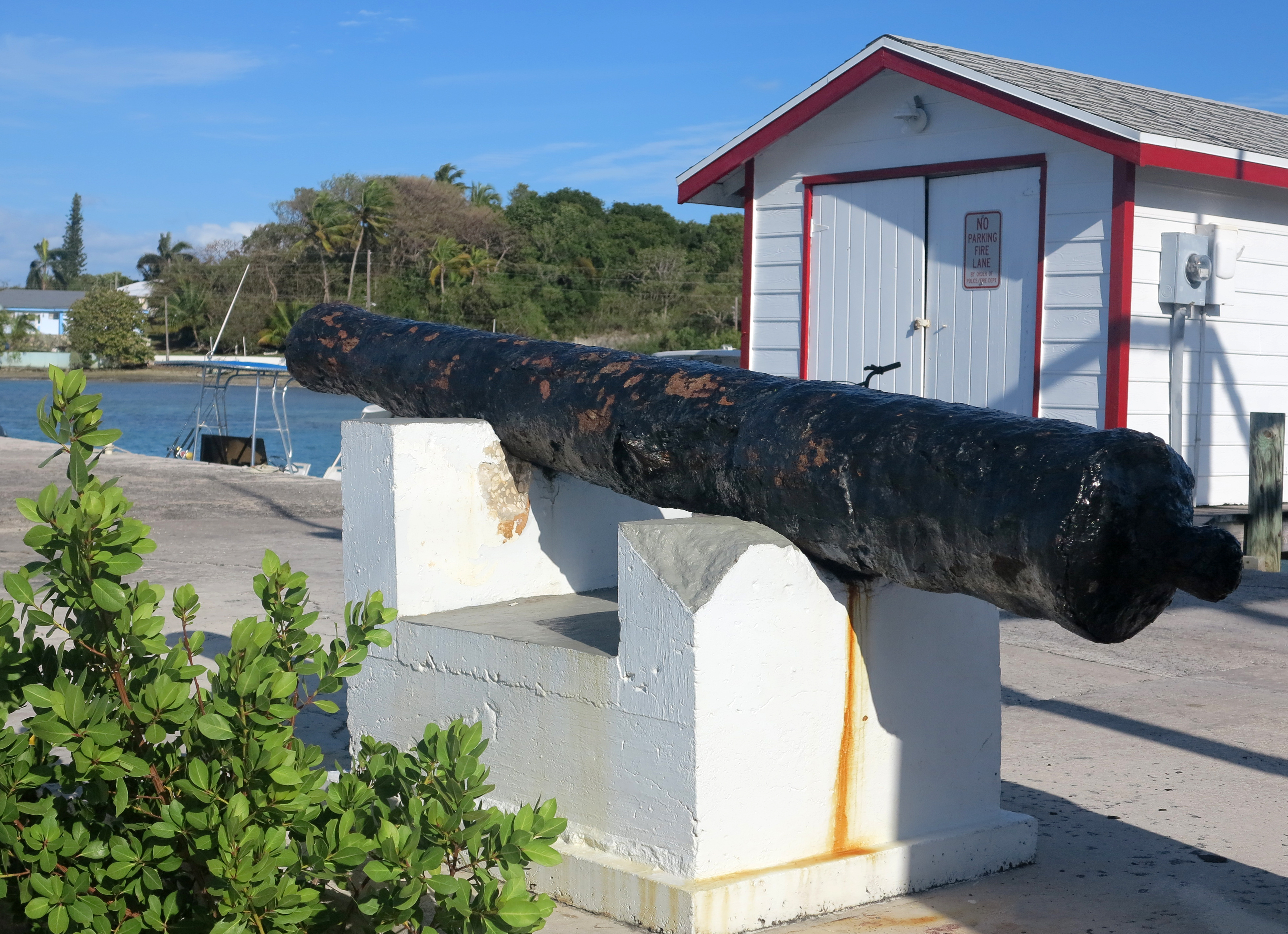 Hints of Green Turtle Cay's Past: The Wreck of the USS San Jacinto
