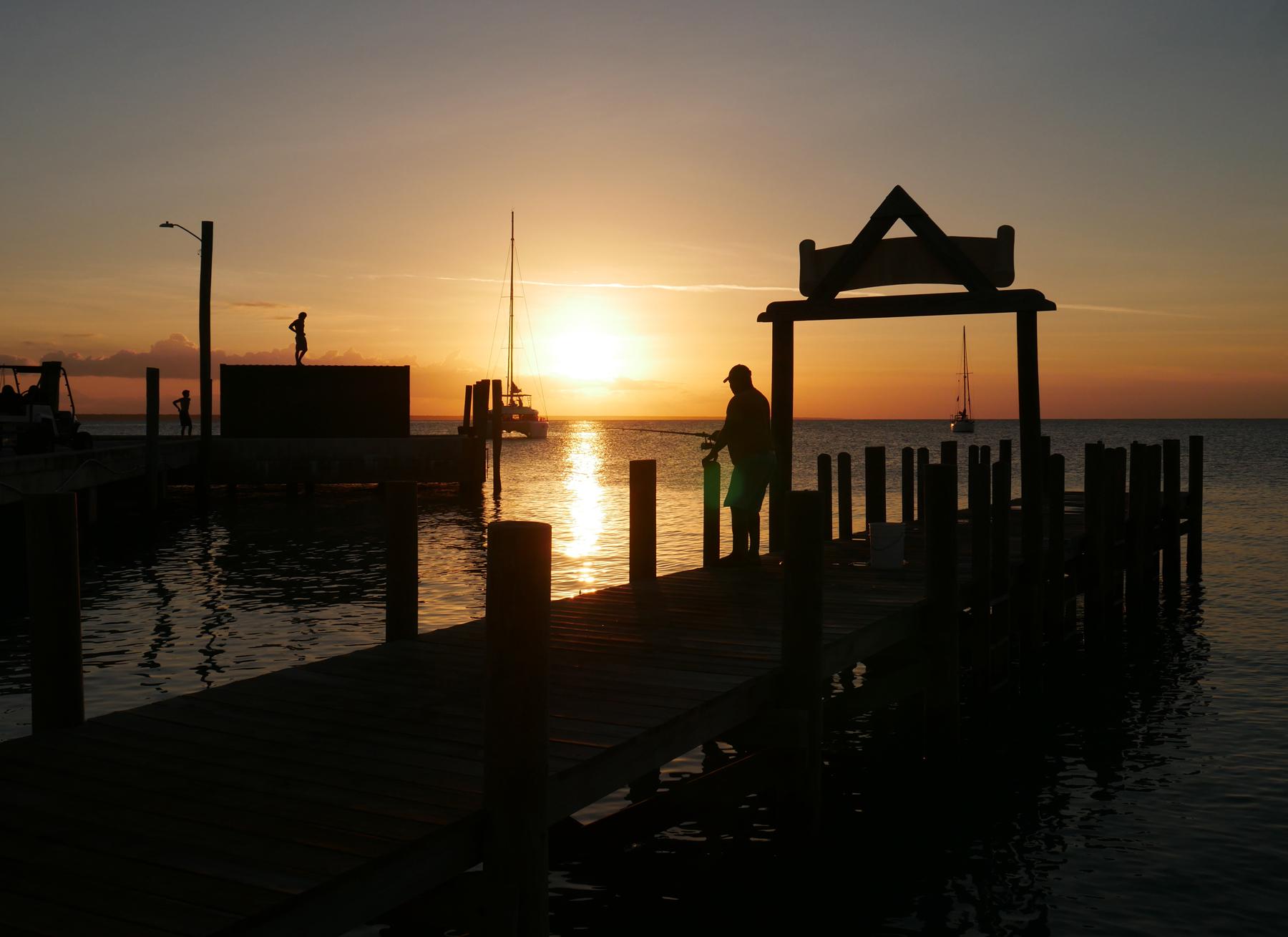 Summer sunset - Green Turtle Cay, Abaco, Bahamas