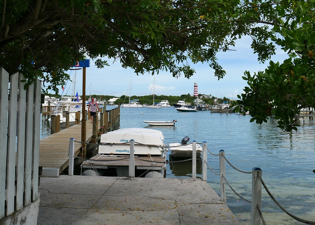 www.LittleHousebytheFerry.com - Daily Photo - The Dinghy Dock, Hope Town, Abaco, Bahamas.