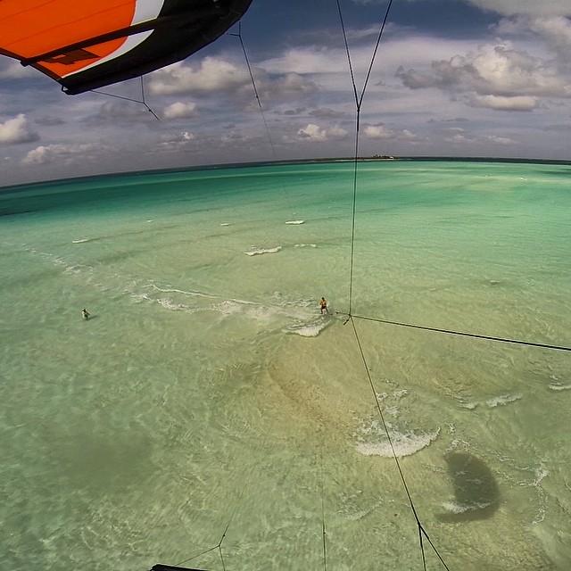 Kitesurfing photo by Dillon Roberts - Reader Photo Friday - www.LittleHousebytheFerry.com