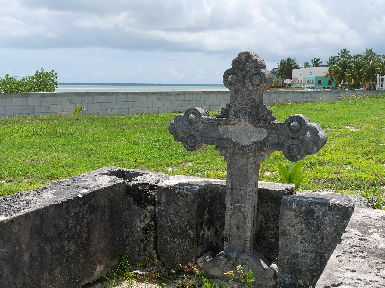 Cemetery, Green Turtle Cay, Abaco, Bahamas