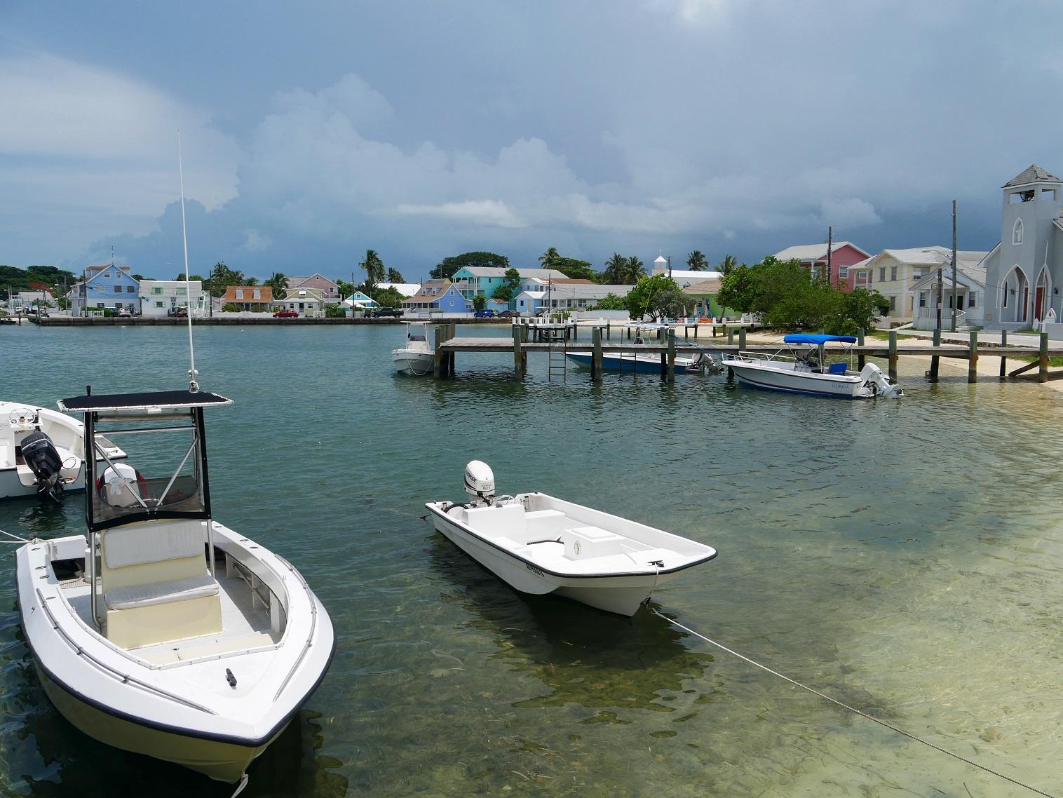 Settlement Creek, Green Turtle Cay, Abaco, Bahamas
