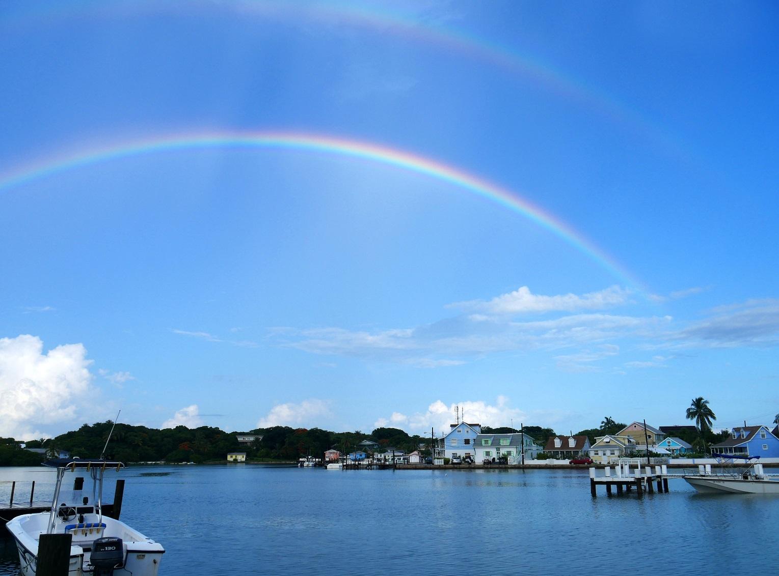 Rainbow - Green Turtle Cay, Abaco, Bahamas