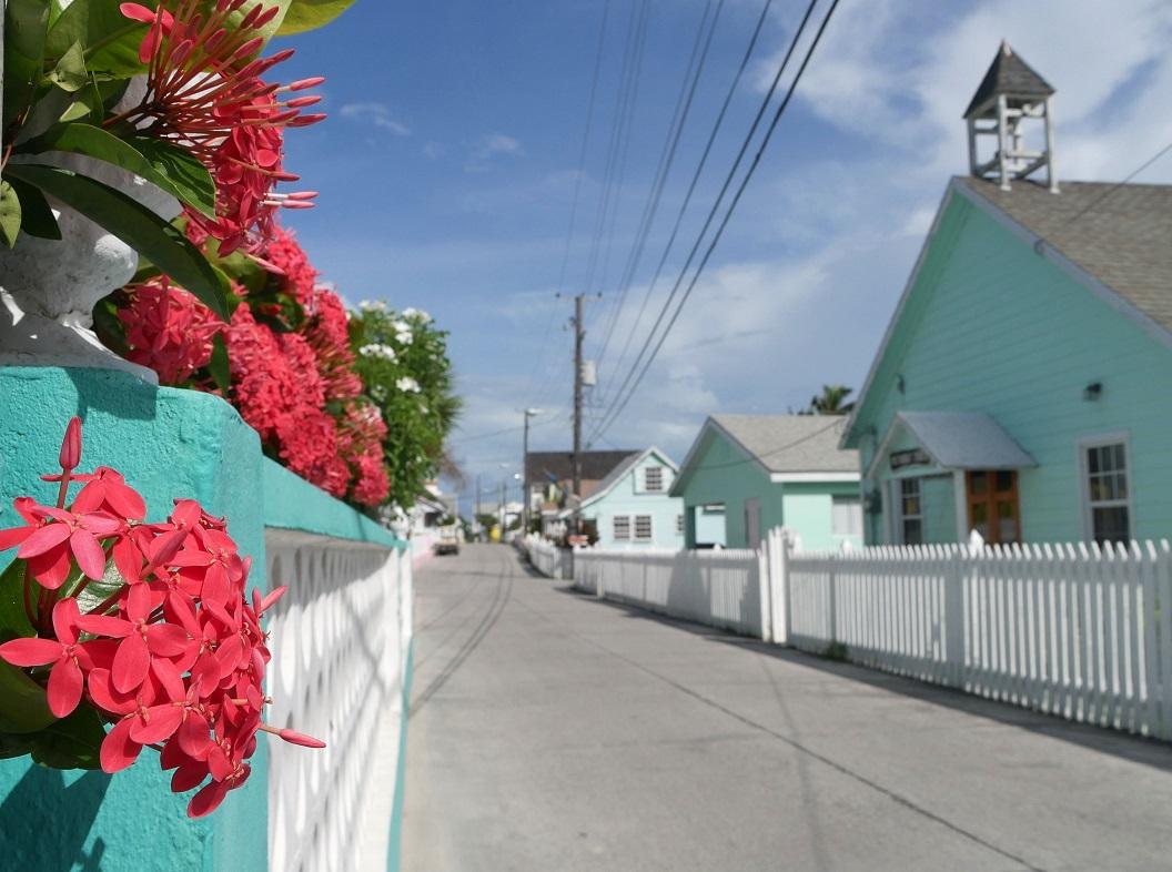 Parliament Street - Green Turtle Cay, Abaco, Bahamas