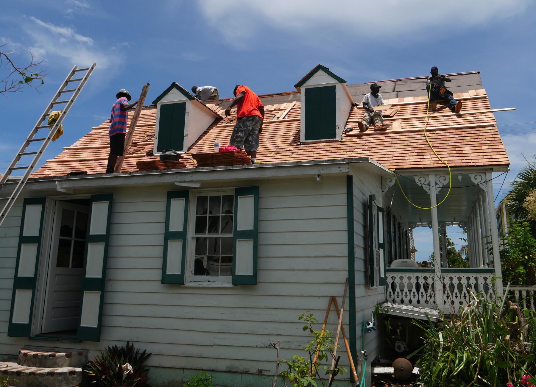 Replacing the Albert Lowe Museum's Roof