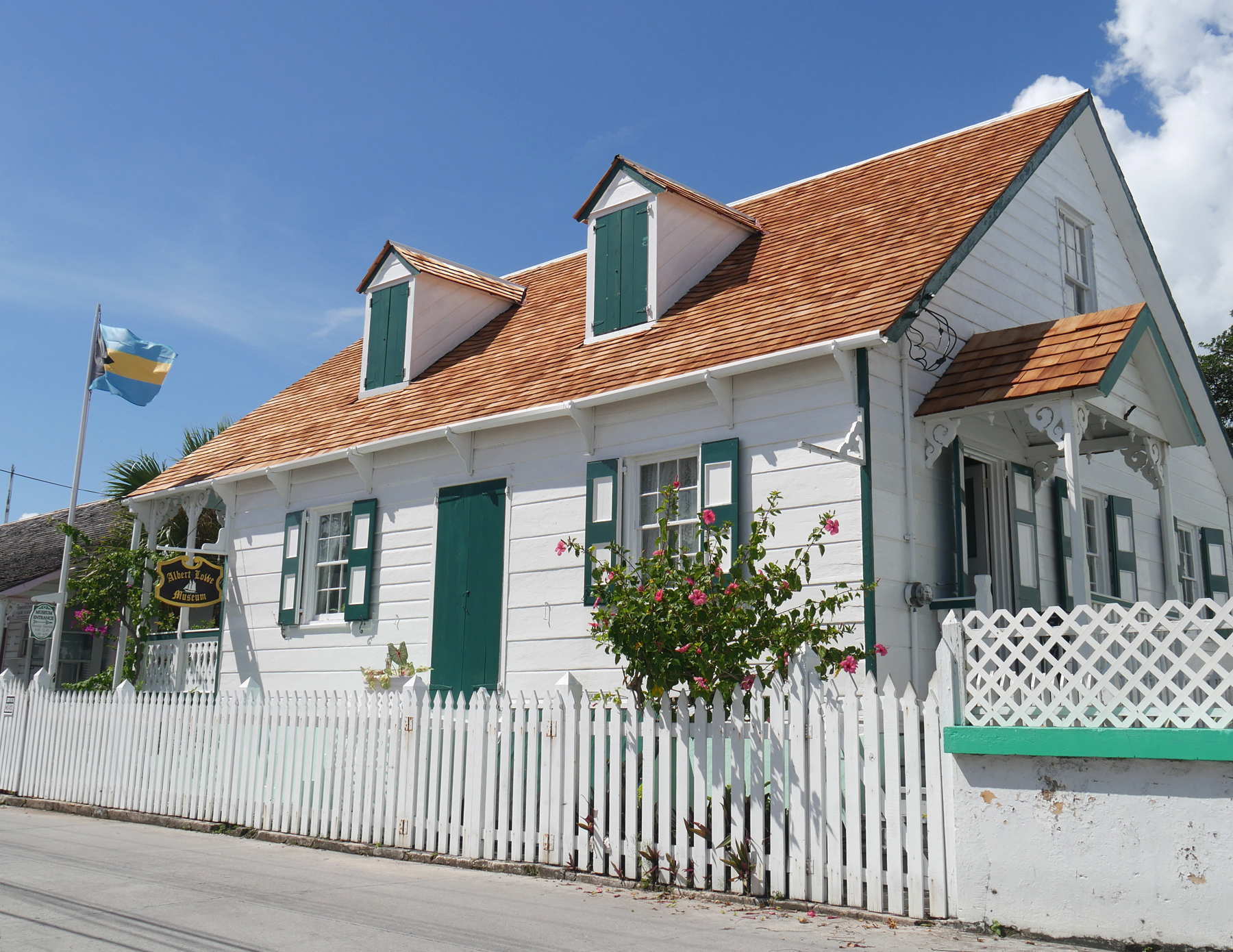 New Roof at the Albert Lowe Museum - Green Turtle Cay, Abaco, Bahamas