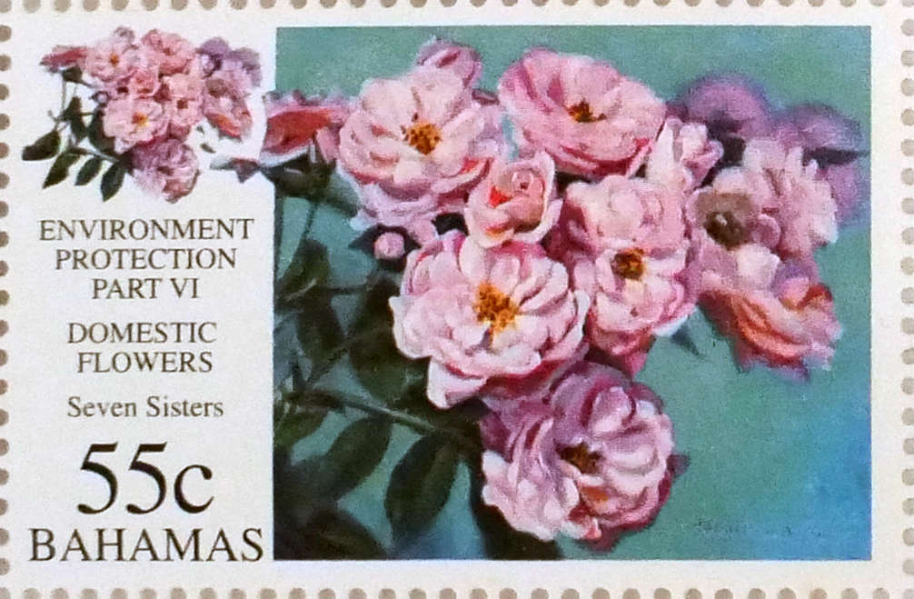 Seven Sisters - Bahamian stamp based on an oil painting by Alton Lowe