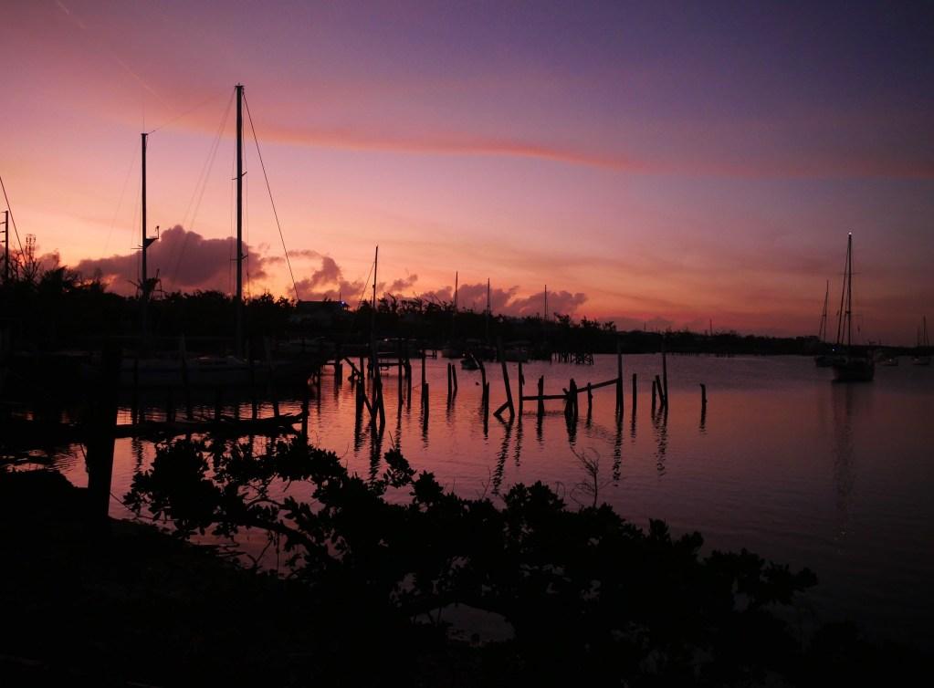 Green Turtle Cay, Abaco, Bahamas, Sunset