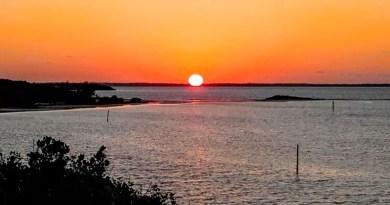 Elbow Cay, Hope Town, Abaco, Bahamas, Sunset