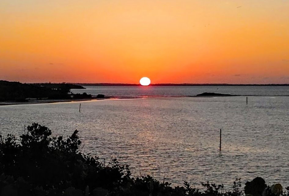 Elbow Cay, Hope Town, Abaco, Bahamas, Sunset