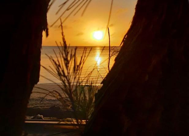 Sandy Point, Sunset, Abaco, Bahamas